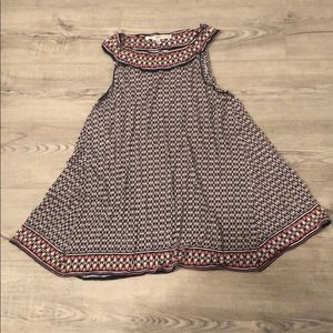 Patterned Max Studio Top Size S